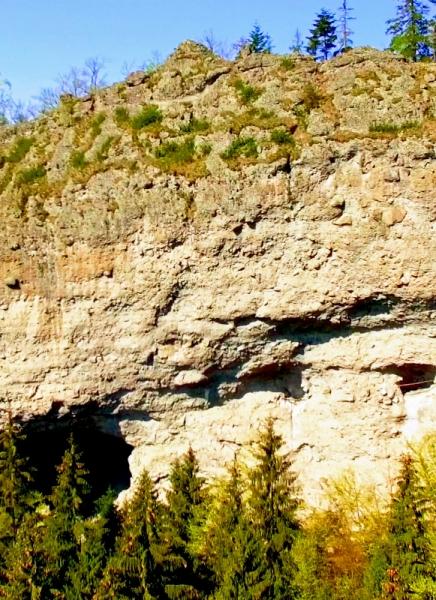 Jánošíkova skala na jar